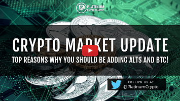 Crypto Market Update – Top Reasons Why You Should be adding Alts and BTC!