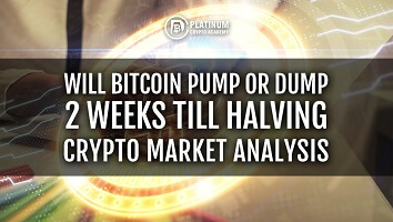 Will Bitcoin Pump or Dump 2 Weeks Till Halving – Crypto Market Analysis